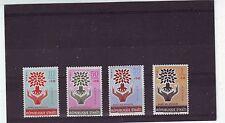HAITI - SG806-809 MNH 1962 WORLD REFUGEE YEAR 3rd SERIES