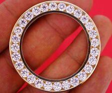 9.00 Ct VVS Super Clean Diamond Bezel for Rolex 41 mm President Daydate 2 Watch