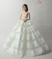Fashion Royalty Princess Dress/Clothes/Gown For Barbie Doll S506