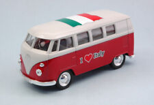 "Volkswagen VW Bus T1 1963 ""I LOVE ITALY"" Cm 11 (1:34-1:39) Model 49764ITR WELLY"
