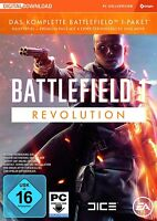 Battlefield 1 Revolution Edition EA Origin PC Key Download Code Sofort per Mail