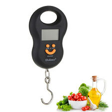 Top Pocket Portable Mini 50kg/5g LCD Digital Hanging Luggage Weight Hook Scale