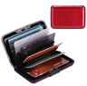 Aluminum Metal Wallet Men Business ID Credit Card Case Holder Anti RFID Scanning