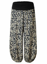 Paisley Loose Fit Pants for Women