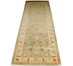 Hand-knotted 11 ft Runner