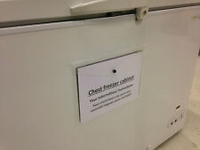 Frigo/Freezer Portafoglio-facile posizione/RIMUOVI Magnetico Portafoglio in plastica A4 Stud