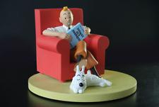 Tintin et Milou a la Maison Fauteuil Rouge Hergé Moulinsart PRECOMMANDE