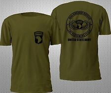 NEW 101ST AIRBORNE VETERAN SPECIAL FORCE MILITARY ARMY 2SIDE T SHIRT S-4XL