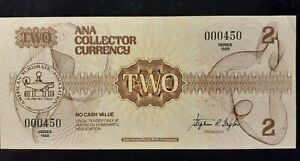 1988  ANA COLLECTOR CURRENCY