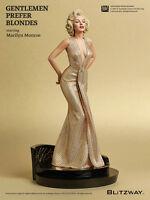 Marilyn Monroe 1953 Gentlemen prefer Blondes Suberb Scale 1/4 Statue Blitzway
