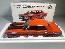 AUTOart 1:18 Ford XW Falcon GTHO Phase 2 1970 Sandown Winner #50 SIGNED - Moffat