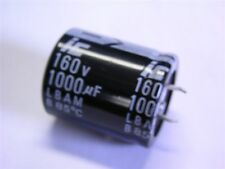 2 Illinois Capacitor LBA Series 1000uF 160V 20% Snap-In Electrolytic Capacitors