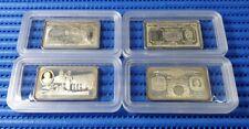1995 Singapore World War II Commemorative Silver Ingot Set (Mintage 888 Sets)