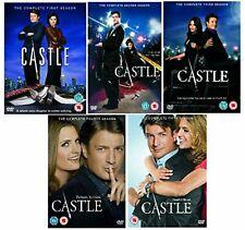 CASTLE COMPLETE Season 1-5 DVD THE COMPLETE 25 DISCS SEASON 1 2 3 4 5  NEW UK R2