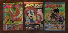 K-Zone Vintage Magazines October, November December 2000 & Photocard Collectors