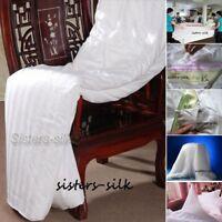 Top Grade 100% Mulberry Silk Filled Comforter Quilt Duvet Doona All Sizes