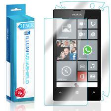 2x iLLumi AquaShield HD Front Screen + Back Panel Protector for Nokia Lumia 521