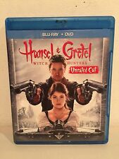 Hansel & Gretel: Witch Hunters (Blu-ray Disc, 2013, 2-Disc Set, Unrated)
