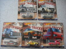 2018 HOT WHEELS CAR CULTURE SHOP TRUCKS SET INC VW CADDY CHEVY SUBARU FORD