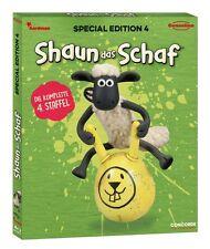 Blu-ray * SHAUN DAS SCHAF - SPECIAL EDITION 4 - STAFFEL 4 # NEU OVP $