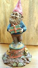 Tom Clark Gnomes ~ Happy ~ Signed ~ 1984 Figure #87 and #1061 Stamped on Figure