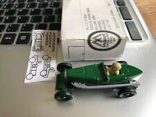 Lledo Green & Silver 1922 ASTON MARTIN Racing Car - Diecast  MINT condition