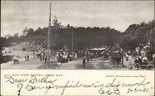 Onset Bay Cape Cod Ma Bay View Bluffs c1905 Postcard