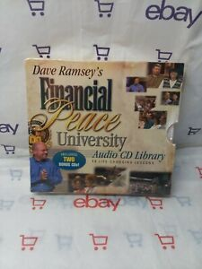 Dave Ramsey's FINANCIAL PEACE UNIVERSITY Audio CD Library Set NEW
