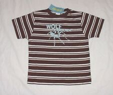 NWT Gymboree Boys SAFARI OUTBACK Brown & White Striped Wolf Spider Shirt Sz 4