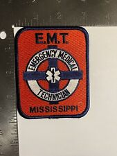 MISSISSIPPI EMERGENCY MEDICAL TECHNICIAN PATCH