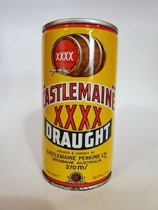 CASTLEMAINE XXXX DRAUGHT STEEL PULL TAB BEER CAN OCOC AUSTRALIA