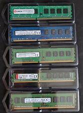 1 x 4 GO GB DDR3 PC3-12800U 1600 KINGSTONE - SK HYNIX - QUMOX - MICRON