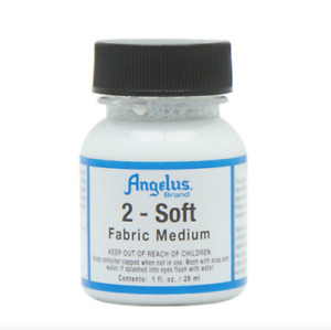 Angelus 2-SOFT 1oz Fabric Painting Medium Additive