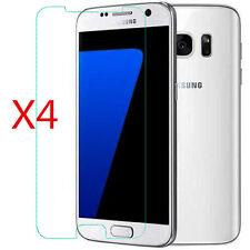 4Pcs HD LCD Clear Screen Protector Shield Film Guard For Samsung Galaxy S7 G9300