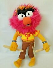 "Disney The Muppets Movie ANIMAL 13"" Plush Drumsticks Stuffed Toy Just Play"