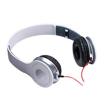 1PC Folding Stereo Headphones DJ Style Headset Earphone Over Ear MP3/4 3.5mm