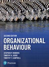 Organizational Behaviour, Stephen P Robbins, Timothy A Judge, Timothy T Campbell