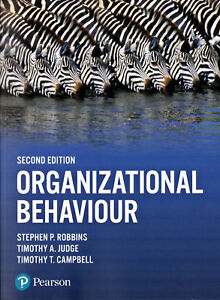 Organizational Behaviour, Stephen P Robbins, Timothy A Judge, Timothy T Campbell
