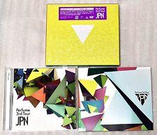 New Perfume 3rd Tour JPN DVD Limited Edition JAPAN Ver nocchi kashiyuka a-chan