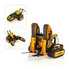 Robotic DIY Electric Terrestrial Robot Construction Track Vehicle Forklift Build