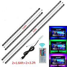 USB Powered RGB Colour Changing 5050 LED Strip TV Background Ambient Lighting 5v