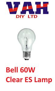 10 XBell 60W ES Cap Clear Round Tough Lamp Bulb, Long Life, Durable Tough Lamp