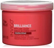 Wella Invigo Brilliance Mask for Coarse Hair 500ml/16.9 Ounce