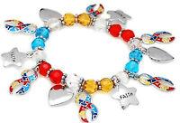 Autism Awareness Jewellery, Autism Faith Bead Bracelet, Autism, Aspergers, DMDD,