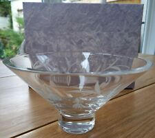 More details for edinburgh crystal tain flared bowl excellent condition with original box