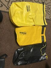 2 SeaLine Dry Bag 30l and 20l and Yarmouth bag