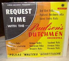 Request Time with the Paulsen's Dutchmen Orchestra LP, Czech Records Mono-999