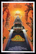 THE ROAD WARRIOR * CineMasterpieces ORIGINAL MAD MAX MOVIE POSTER 1982 NM C9