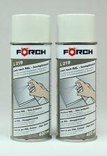 2x Papyrusweiß  RAL 9018 Lack Lackspray glänzend KFZ Spray Spraydose 400ML