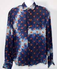 Jean-Paul GAULTIER HOMME Long Sleeve rayon Shirt Size 52 New vintage